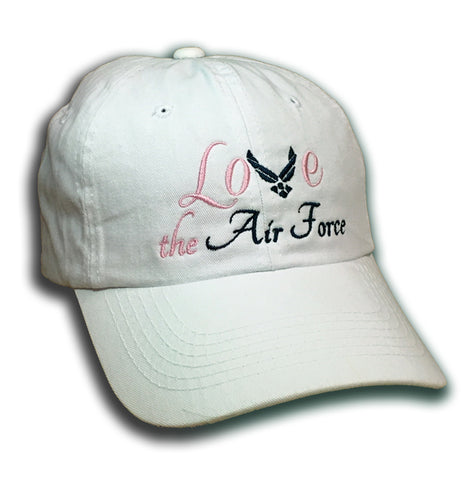 """LOVE the Air Force"" Cap"