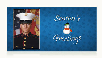 Marines Season's Greetings Cards