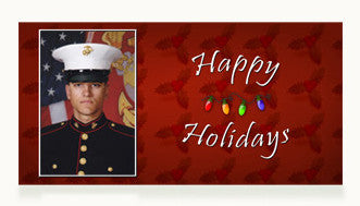 Marines Happy Holidays Cards