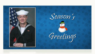 Navy Season's Greetings Cards