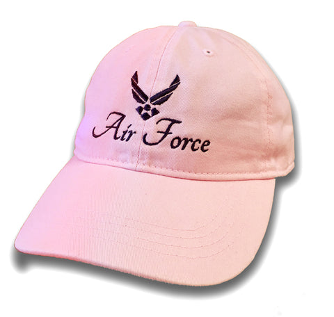 "Pink ""Air Force"" Cap"
