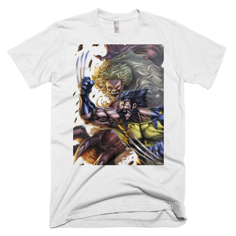 Wolverine vs Sabertooth T-shirt