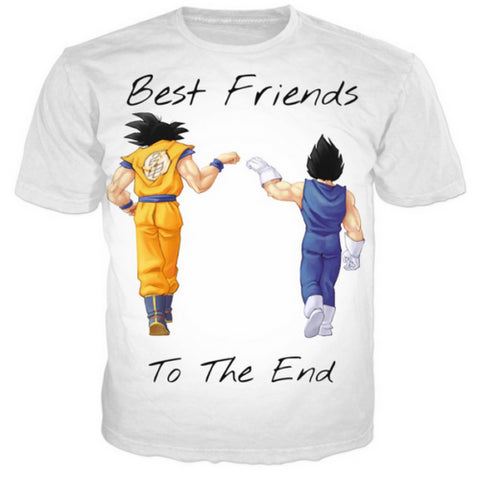 Dragonball Z - Best Friends to the End T-Shirt