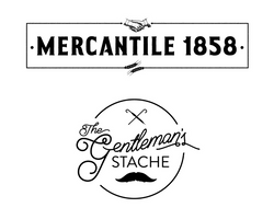 The Gentleman's Stache, DBA Mercantile 1858