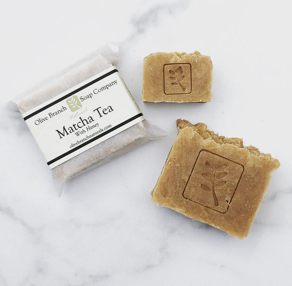 Matcha Tea w/ Honey 3oz Soap Bar