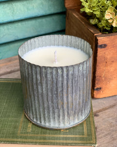 Citron + Sugar 11oz Soy Candle in Tin