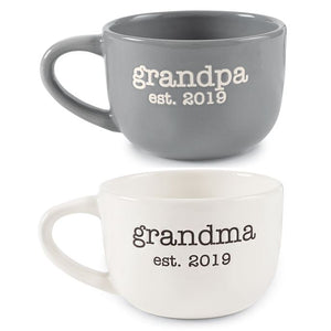 Grandparents Est. 2019 Mug