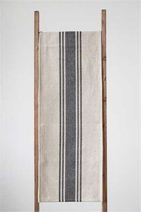 Stripe Cotton Canvas Table Runner