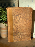 Great Vintage Leather-bound German Book