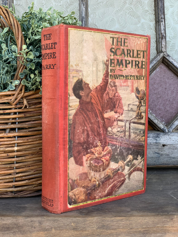 Vintage Book- The Scarlet Empire