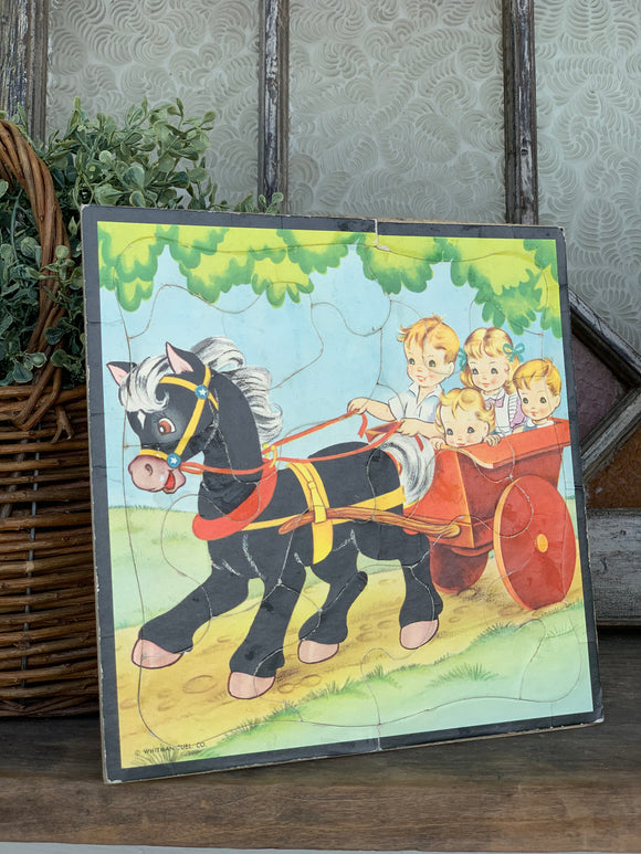 Vintage Children's Puzzle- Sold Individually