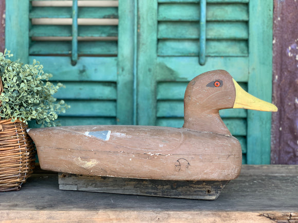 Mallard Hen Duck Decoy