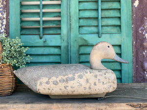 Old Cabela's Cork Duck Decoy