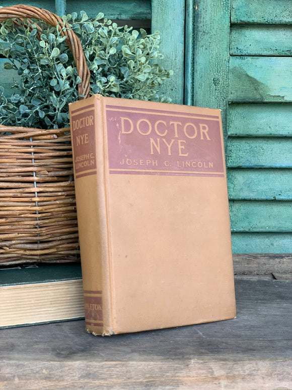 Vintage Doctor Nye of North Ostable Book