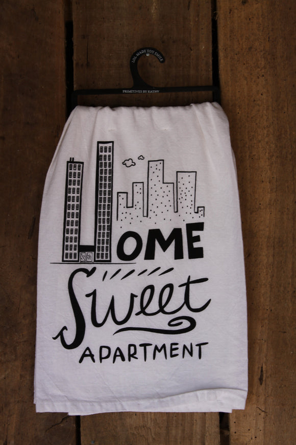 Home Sweet Apartment Tea Towel