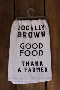 Locally Grown Tea Towel