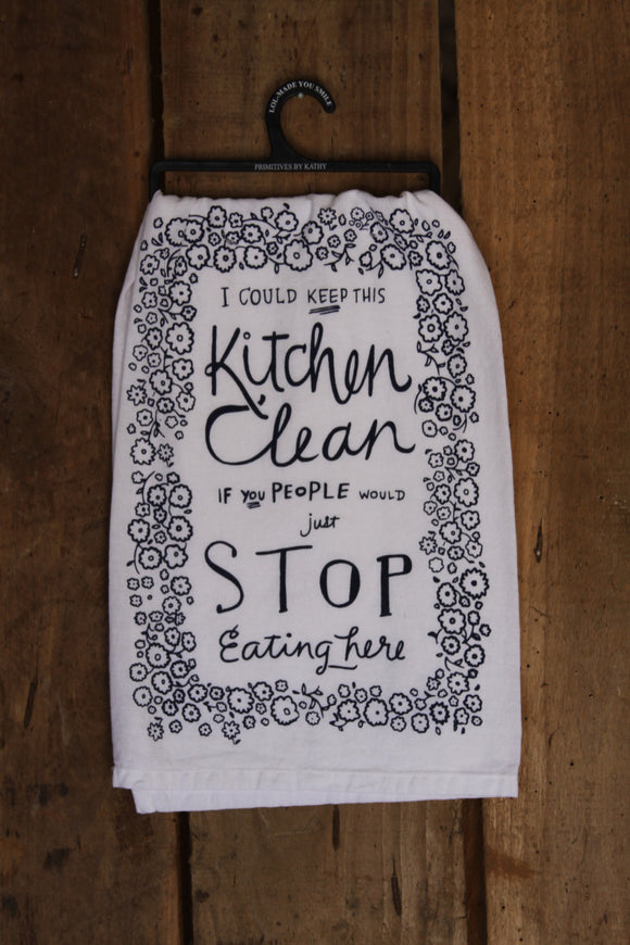 Kitchen Clean Tea Towel