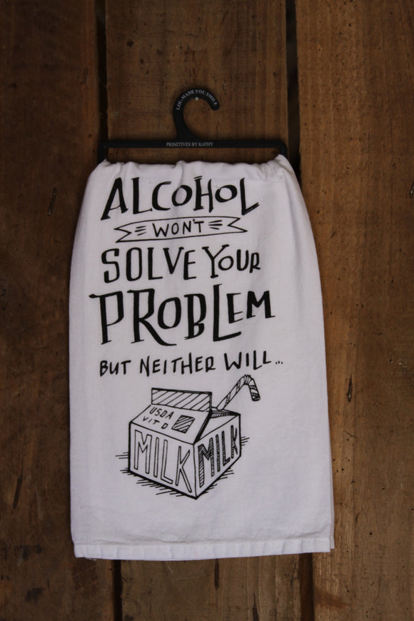 Solve Your Problem Tea Towel