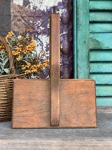 Vintage Wooden Cotton Combs