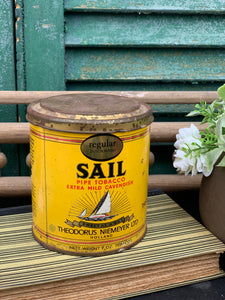 Sail Pipe Tobacco Can