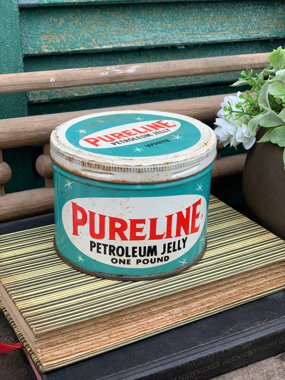 Pureline Petroleum Jelly Tin