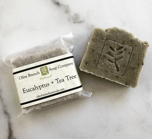 Eucalyptus + Tea Tree 3oz Soap Bar