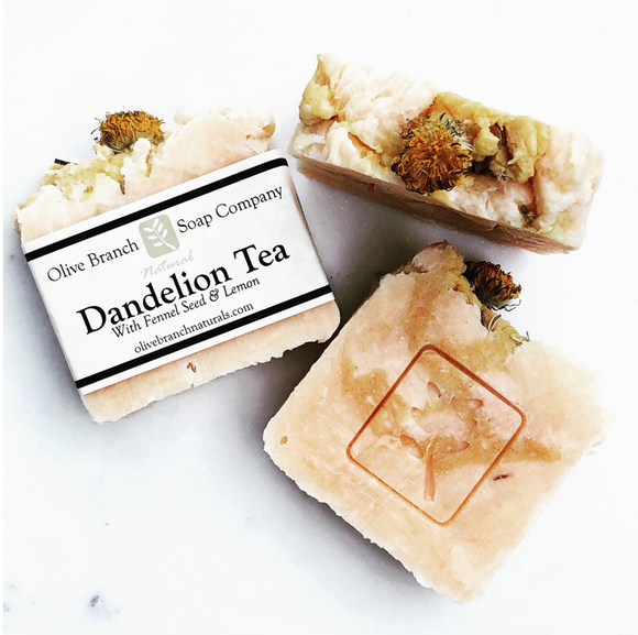 Dandelion Tea w/ Fennel Seed & Lemon 3oz Soap Bar