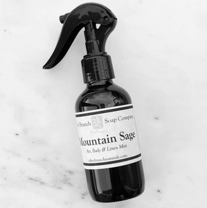 Mountain Sage 4oz Air+Linen Mist