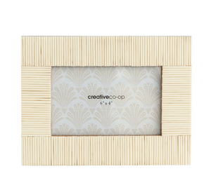 Textured Cream Photo Frame