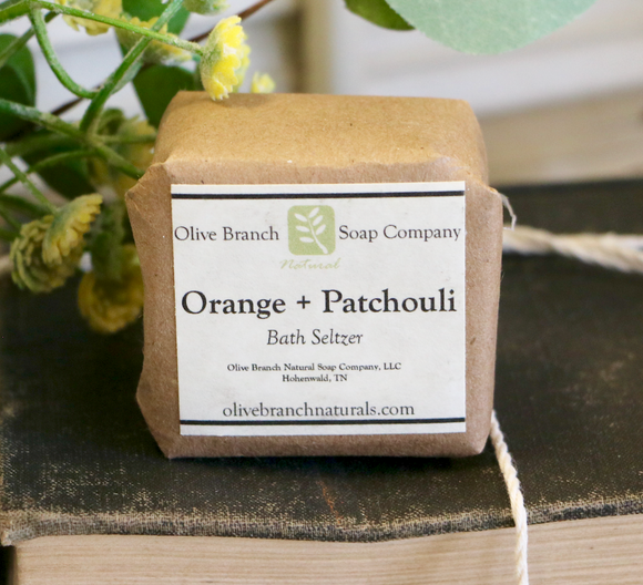 Orange + Patchouli Bath Seltzer