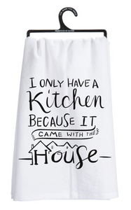 Kitchen Came With The House Tea Towel