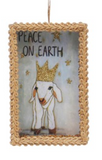 Framed Paper Box Nativity Ornament