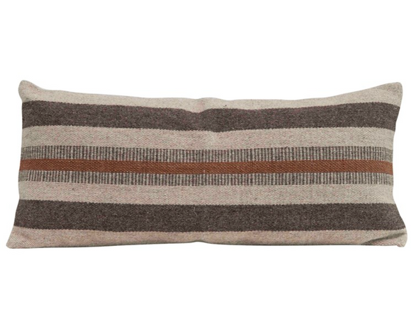 Earth Tone Lumbar Pillow