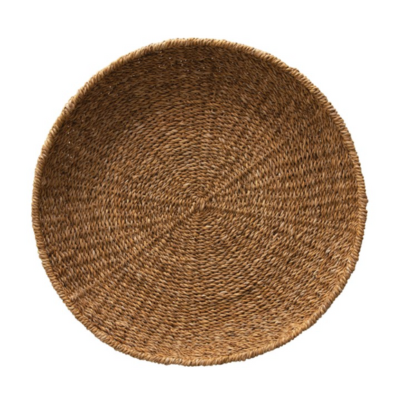 Hand-Woven Seagrass Tray