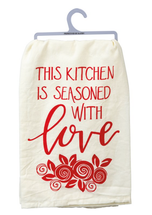 Seasoned with Love Towel
