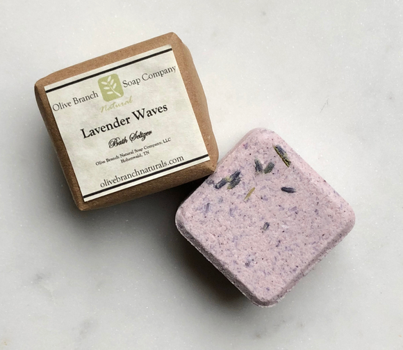 Lavender Waves Bath Seltzer