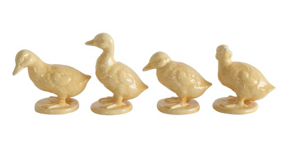 Ceramic Duckling Figurine