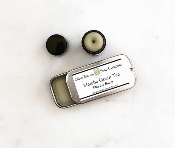 Matcha Green Tea Silky Lip Butter Tube