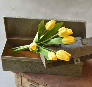 Real Touch Yellow Tulip Bundle