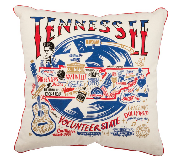 Volunteer State Pillow