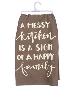 Messy Kitchen Tea Towel