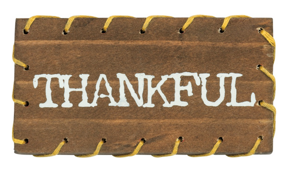 Thankful Stitched Block