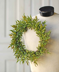 Smilax Green Candle Ring