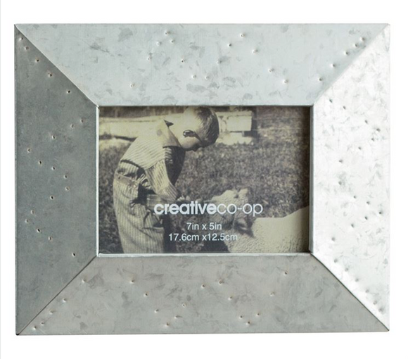 Landscape Metal Photo Frame