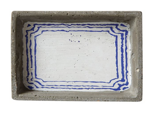 Decorative Cement Dish