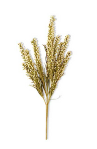 "21"" Cream Heather Grass Spray Stem"