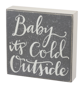 Baby It's Cold Outside Inset Box