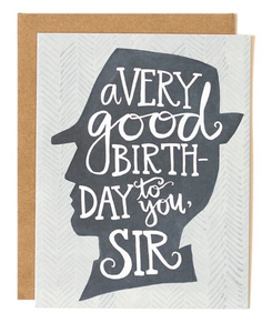 Birthday Sir Card
