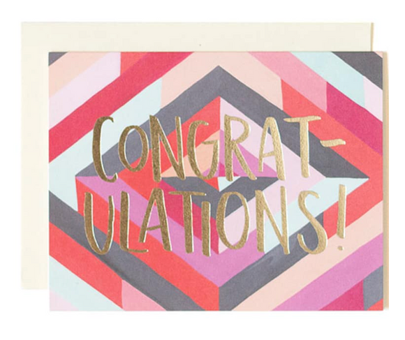 Diamond Congrats Card