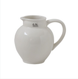 Vintage-Style Ceramic Pitcher